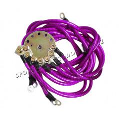 El. kabely pro kvalitnější zapojení hudby, neonů, atd.