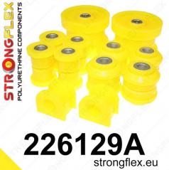 VW Bora StrongFlex Sport sestava silentbloků jen pro zadní nápravu 8 ks