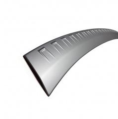 Ochranný panel zadního nárazníku Škoda Karoq - Alu look - VV Design - KI-R