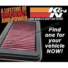 K&N AIR INTAKE SYSTEM BMW X3 (E83), X5 (E53/E70)