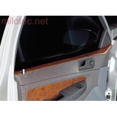 Dekor výplně dveří - horní, ABS-dřevěný, Škoda Fabia Combi