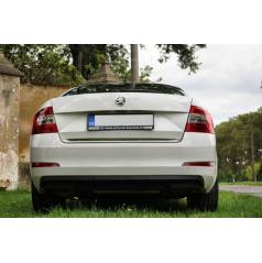 Nerez chrom spodní lišta kufru RS Škoda Octavia III sedan