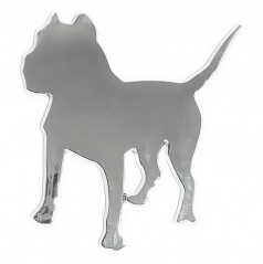 Znak DOG PLASTIC samolepící