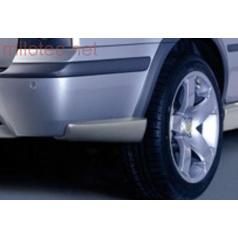 4-ROAD rozšíření zadního nárazníku - ABS stříbrný, Škoda Octavia Combi