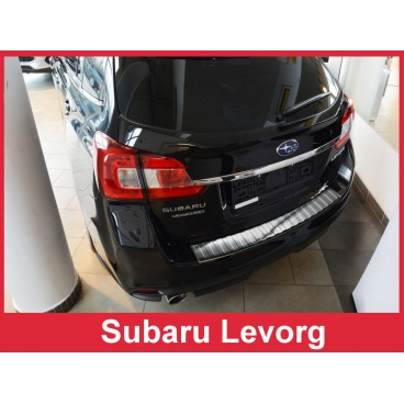 Nerez kryt- ochrana prahu zadního nárazníku Subaru Levorg 2014+