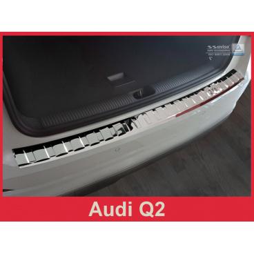 Nerez kryt- ochrana prahu zadního nárazníku Audi Q2 2016+