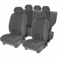 Autopotahy Lux-Škoda Octavia III-dělená zadní sedačka+loketní opěrka Linz