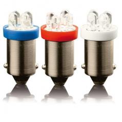 Žárovka 4 LED BA9S 12V - 2 ks