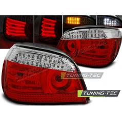 BMW E60 07.2003-07 zadní lampy red white LED (LDBM94)