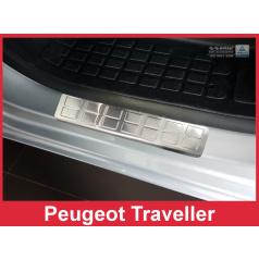 Nerez ochranné lišty prahu dveří 2ks Peugeot Traveller 2016+