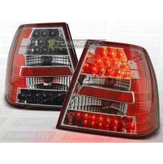 VW BORA 1998-05 ZADNÍ LED LAMPY RED WHITE (LDVW63)