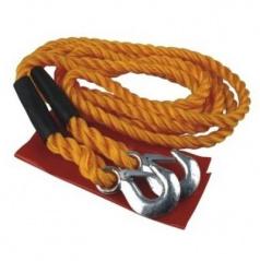 Tažné lano 4 m do 6500 kg - kovové oka