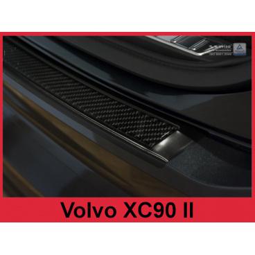 Carbon kryt- ochrana prahu zadního nárazníku Volvo XC90 II 2015+