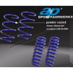 ap Sportfahrwerke sportovní snížené pružiny BMW řada 1
