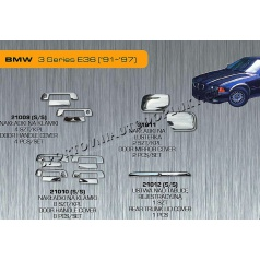 BMW 3 (E36) 91-97 chróm autodoplnky