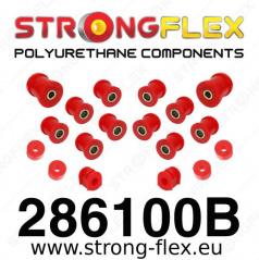 Nissan 100NX StrongFlex sestava silentbloků jen pro zadní nápravu 15 ks