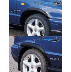 Škoda Felicia Facelift od r.v. 98 Nástavky Lemy blatníků normal - černý desén*