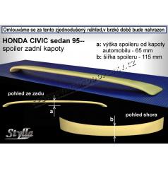 HONDA CIVIC SEDAN (95-00) spoiler zad. kapoty