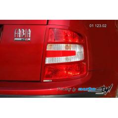 Škoda Fabia Rámeček zadních světel - combi, sedan - pro lak (r.v. od 9/2004)