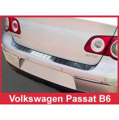 Nerez kryt- ochrana prahu zadního nárazníku Volkswagen Passat B6 2005-10