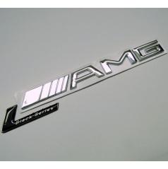 Znak chrom AMG  Black Series s podlepením