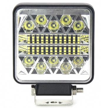 Světlo pracovní hranaté  26 LED 110x110 mm 12-24 V