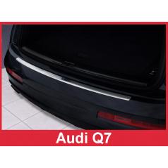 Nerez kryt- ochrana prahu zadního nárazníku Audi Q7 2006-15