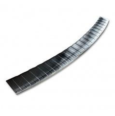 Nerez kryt- černá ochrana prahu zadního nárazníku BMW X1 E84 2012-15