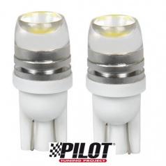 2 KS Žárovek Hyper LED T10 12V 5W - optické sklo v horní části
