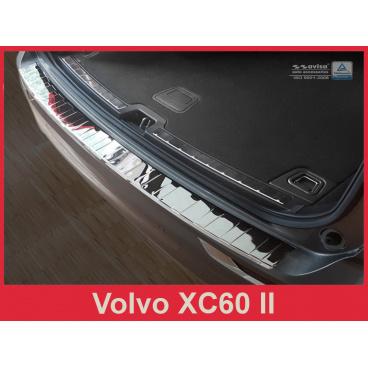 Nerez kryt- ochrana prahu zadního nárazníku Volvo XC60 II 2017+