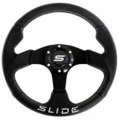 Sportovní volant černý semiš 320 mm