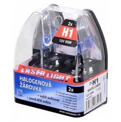 Žárovka White Laser H1 55 W