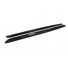 Škoda Superb III - boční prahy DTM z ABS plastu - glossy black