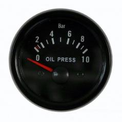 Přídavný budík KET tlak oleje 52 mm