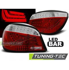 BMW E60 07.2003-02.2007 zadní lampy red white LED BAR (LDBMC3)