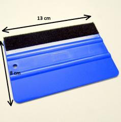 Plastová stěrka na fólie