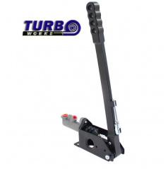 Ruční brzda hydraulická TurboWorks černá (páka 42 cm)