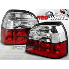 VW GOLF III 1991-97 ZADNÍ LAMPY RED WHITE (LTVW53)