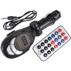 Modulátor (transmitter) FM LCD MP3, SLOT SD/MMC  hlavně pro starší auta