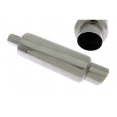 Sportovní výfuk TurboWorks kulatá koncovka  sikmá (vstup 51 mm, průměr koncovky 77 mm)