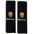 Originální návleky na pásy s logem FC BARCELONA černé