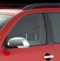 Kryty dveřních sloupků - ABS karbon, Škoda Octavia II Limousine