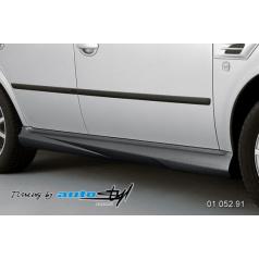 Škoda Octavia 2001 Nástavky prahů - černý desén*