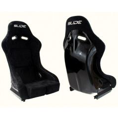 Sportovní pevná skořepina SLIDE RS1 černý semiš