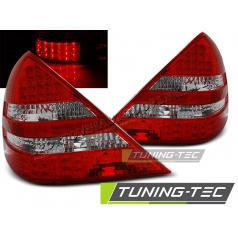 Mercedes R170 SLK 04.1996-04 zadní lampy red white LED (LDME52)