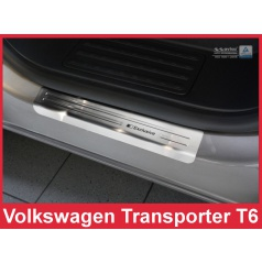 Nerez ochranné lišty prahu dveří 2ks Volkswagen Transporter T6 2010+