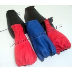 Manžeta řadící páky kožená - různé barvy