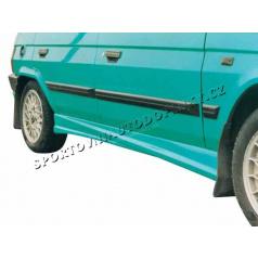 Škoda Favorit kryty práhů Rallye