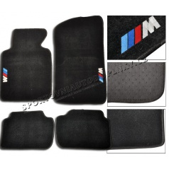 BMW E46 luxusní textilní koberce s logem M