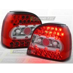 VW GOLF III 1991-97 ZADNÍ LED LAMPY RED WHITE (LDVW13)